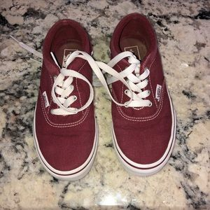 Vans off the wall Kids shoes size 1 boys